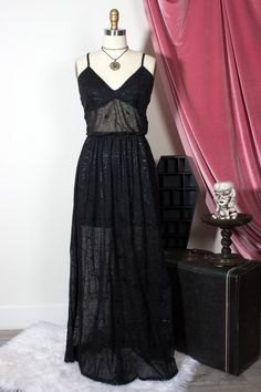 ea0c7da2008 Draconia Spiderweb Maxi Dress – The Oblong Box Shop
