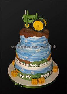 Die 122 Besten Bilder Von Traktor In 2019 Fondant Cakes Tractor