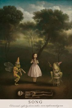 Stephen Mackey - 133 Artworks, Bio & Shows on Artsy Illustrations, Illustration Art, Arte Horror, Creepy Art, Lowbrow Art, Arte Pop, Pop Surrealism, Art For Art Sake, Surreal Art