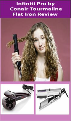 Infiniti Pro by Conair Tourmaline Flat Iron is one of the leading iron on the market. It could be the answer to all kinds of wavy hair issues. Find the best one