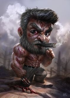 kuchupack - Marvel Comics X-Men Wolverine Marvel Wolverine, Logan Wolverine, Marvel Art, Marvel Heroes, Marvel Movie Characters, Marvel Movies, Joker Wallpapers, Cute Cartoon Wallpapers, Chibi Marvel