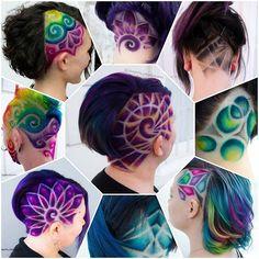 . . #cherrybomb #cherrybombhair #becomminganozzie #purplehair #pravanaaustralia #buzzcutfeed #hair #melbournehair...