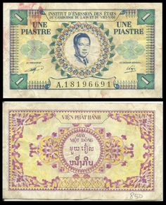 French – Indo – China Banknote