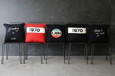 Bella Freud Merino Wool Cushion - 1970 Red - Cushions - Home Accessories