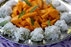 Onde Onde with Alphonso Mangos: Can't go wrong.