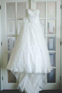 France B. Pronuptia gown