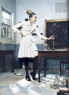 vacantlots:    Science meets high fashion.