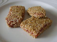 Le ricette di Silvia: Filetto di Tonno al Sesamo ( cotto al forno )