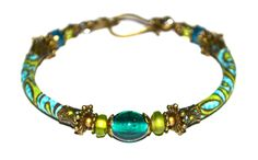 RESERVED - Custom order for Neri: Olive & turquoise bracelet with fabric beads by PurpleTurtleStore on Etsy https://www.etsy.com/au/listing/213671041/reserved-custom-order-for-neri-olive