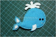 игрушки из фетра. Морские обитатели Felt Fish, Sugar, Crafts, Manualidades, Handmade Crafts, Diy Crafts, Craft, Arts And Crafts, Crafting