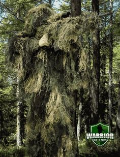Warrior Ghillie Suit - WG-XL-WD - Warrior Ghillie Suit Woodland XL-XXL by Warrior. $112.36. WG-XL-WD - Warrior Ghillie Suit - The Warrior Ghillie Suit is the ultimate 3D camouflage ghillie suit.? Made with lightweight synthetic threads sewn onto a breathable digital jacket and pants, this ghillie suit is all you will ever need.? This synthetic material is fire retardant, mildew and moisture resistant. This ghillie suit is four pieces and contains a jacket with a butt...