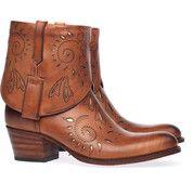 Nice Boots! Bruine Sendra boots 11498 enkelaarsjes