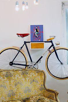 Bicicleta en @SlowroomMadrid