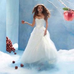 Snow White Wedding Dress