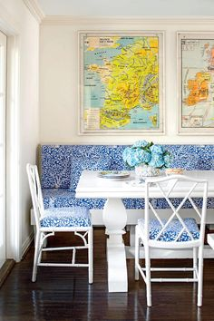Insert a Breakfast Nook - 50 Best Small Space Decorating Tricks We Learned in 2016 - Southernliving. Even in the smallest rooms, breakfast nooks add real impact. They have service—making everything from breakfast to homework to game nights a little easier. Find a way to carve out the space for a breakfast nook in your tiny home (with just a few chairs or a full banquette), and you'll never look back.
