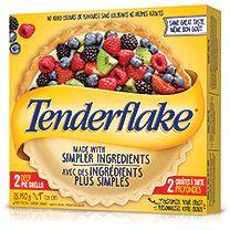 Croûtes et pâte feuilletée Tenderflake