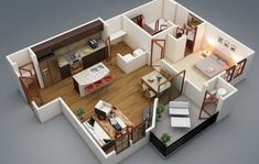 Small one bedroom house plans large size of layout design one bedroom apartment house plans house . small one bedroom house plans 3d House Plans, Modern House Plans, Small House Plans, Apartment Layout, One Bedroom Apartment, Apartment Design, Layouts Casa, House Layouts, The Plan