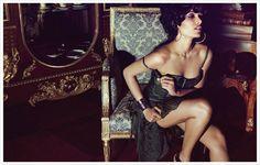 ru_glamour: Фрида Пинто в фотосессии Ю Цая (Yu Tsai)