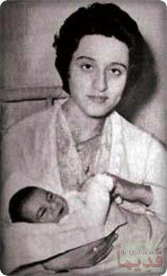 السيدة فيروز ووليدها زياد، مطلع العام 1956