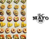 That Mayo Branding and Design Canvas Designs, Mayonnaise, A Boutique, Typography, Packaging, Branding, Marketing, Logo, Inspiration