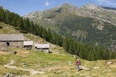 In der Natur unterwegs: Vier Täler, drei Pässe im Locarnese - Ankunft bei der Capanna Arena - #ExpeditionLocarnese