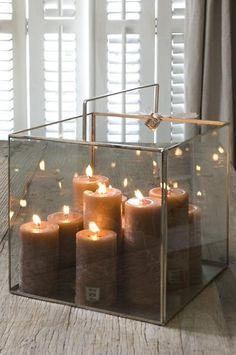 Neat idea for pillar candles