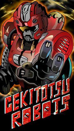 Gekitotsu Robot Gashat Art