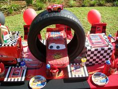 """Lightning McQueen"" by Treasures and Tiaras Kids Parties, via Flickr"