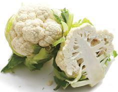 Informação Nutricional - Couve-flor crua: Calorias, gordura total, sódio, carboidratos, fibra, açúcar, proteína, zinco, fósforo, ferro, cálcio, outros nutri