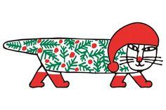 リサ・ラーソン&北欧アーティストフェアのことをもっと知りたければ、世界中の「欲しい」が集まるSumallyへ! Drawing Borders, Tove Jansson, Cartoon Toys, Miffy, Pattern Making, Cat Art, Pattern Design, Holiday, Christmas
