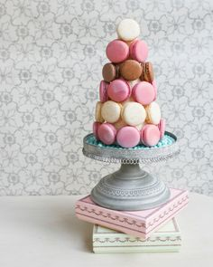 DIY French Macaron Tower | Thirsty for Tea