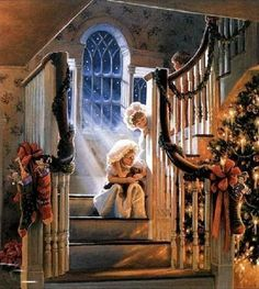 Beautiful Victorian Christmas Morning