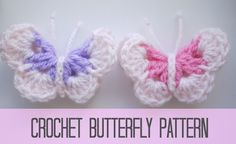 Here is a really cute project of a crochet butterfly pattern that is so quick and easy to do. I made my Butterfly into…