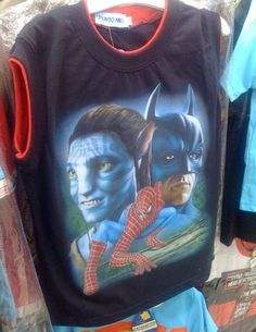 Bootleg Tee-shirt from Puerto Rico or the greatest movie of all time? You decide.