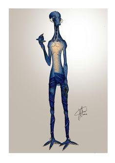 //Alien - Character Design
