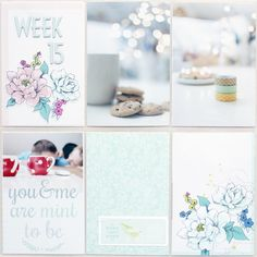 This blog is filled with the most beautiful pictures and project life layouts!
