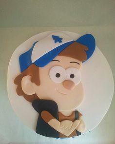 Gravity Falls,Dipper birthday Cake