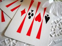 Vintage Playing Cards - Clubs, Hearts, Spades and Diamonds - Perfect for…