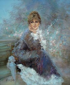 Romantic Impressionism Lucia Sarto. Female image. Discussion on LiveInternet - Russian Service Online diary