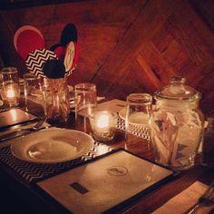 Twin Peaks Dinner Table