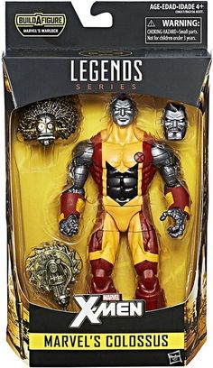 X-Men Marvel Legends Warlock Series Colossus Action Figure