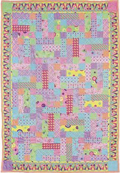 Free Jelly Roll Quilt Pattern