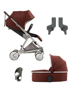 Mamas & Papas Urbo2 Pushchair and Carrycot Bundle -Tailored (Buy and SAVE!) | littlewoods.com
