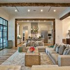 Hill Country Residence - contemporary - living room - austin - by Cornerstone Architects