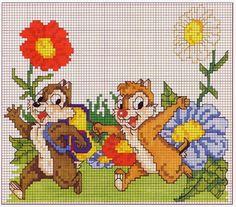 Cross Stitch *<3* Kids tic et tac