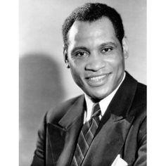 American singer and actor Paul Robeson Black Actors, Black Celebrities, Renaissance Men, Opera Singers, People Art, African American History, Civil Rights, Black People, Classic Hollywood