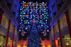 A Philadelphia Holiday Tradition since 1955, the Macy's Christmas Light Show lights up Center City November 23 - December 31. (Photo: Macy's Philadelphia)