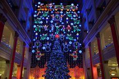A Philadelphia Holiday Tradition since 1955, the Macy's Christmas Light Show lights up Center City November 23 - December 31. (Photo: Macy's Philadelphia)