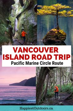 This gorgeous road trip on Canada's Vancouver Island takes you to gorgeous rainforests, beautiful beaches, and hidden waterfalls. Drive the Pacific Marine Circle Route on Vancouver Island from Victoria to Port Renfrew. Includes where to hike, the best places to stop, what the eat and where to stay. Plus there's a handy map and step by step directions. Don't go to Vancouver Island without doing this beautiful drive. #Vancouver Island #BritishColumbia #Canada #PacificMarineCircleRoute
