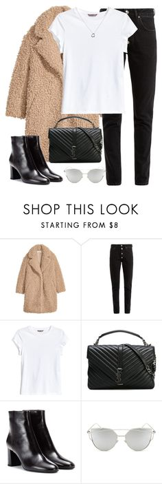 """Untitled #3308"" by elenaday on Polyvore featuring H&M, Balenciaga, Yves Saint Laurent, Chicnova Fashion and Tiffany & Co."